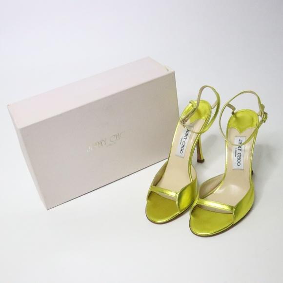 Yellow Acid Sandals 40 Metallic | Poshmark